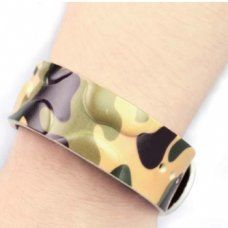 HF - RFID Silicone Wristband OP046 (Camouflage Wristband)